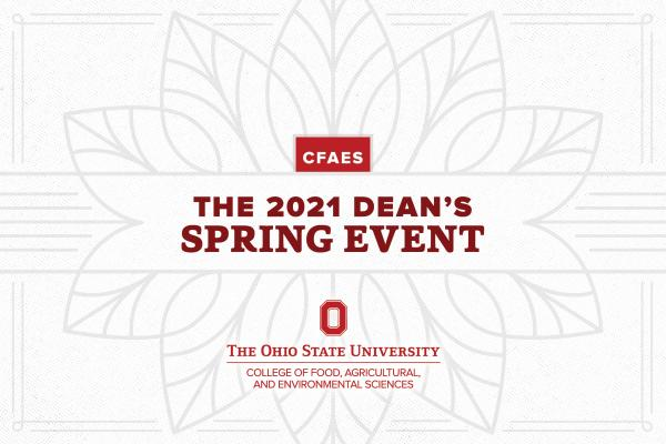 Register for the Dean's Spring Event