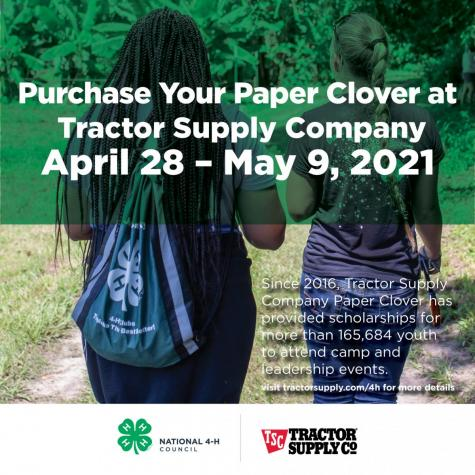 More on 4-H partners with Tractor Supply Company